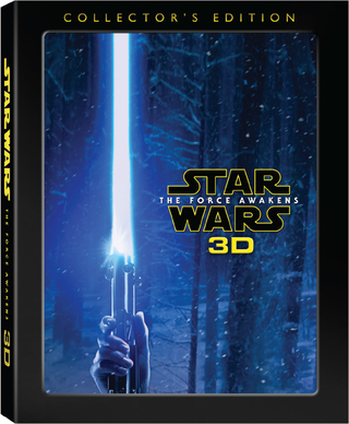 Star Wars: The Force Awakens 3D Combo (Blu-ray 3D + Blu-ray + Digital HD)