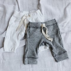PANTS GREY & WHITE