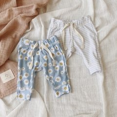 PANTS DAISY & STRIPES