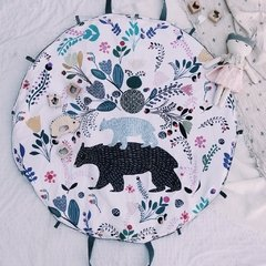 PLAYMAT ROUNDIE TEDDY BEAR