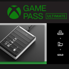 Disco Duro WD Black P10 1TB incluye GAME PASS XBOX - comprar online