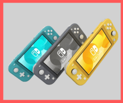 Nintendo Switch Lite - Anywhere Tienda OnLine