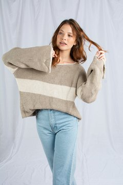 SWEATER ALFONSA BEIGE en internet