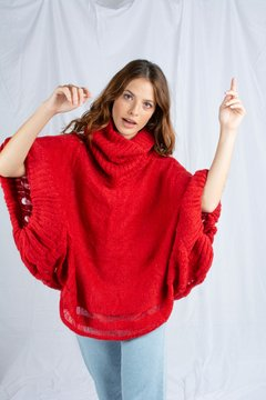 SWEATER CALABRESA ROJO en internet