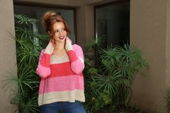 Sweater Juliana turqueza - GauchaBuenosAires