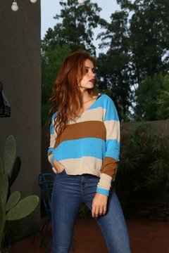 Sweater Juliana turqueza - comprar online