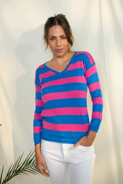 SWEATER CABO AZUL