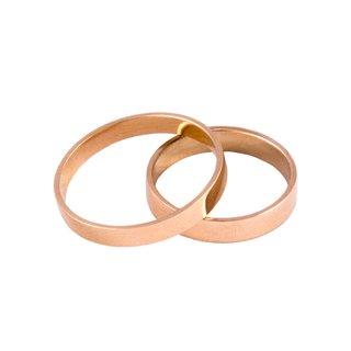 fd25fd5ae106 Alianzas de oro 18 Kilates Cinta 6gr el par  ALI0101