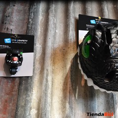 CRAZY SAFETY CASCO DRAGON BLACK + TIMBRE DRAGON BLACK - comprar online