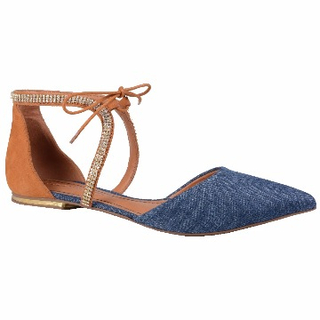 47219c698d Sapatilha Jeans com Pedrarias - Loucos   Santos - comprar online