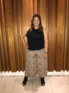 PantaCourt Plus Size Animal Print - comprar online