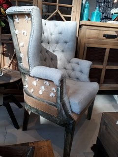 ART DES DECONSTRUCTED WINGBACK CHAIR