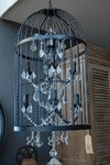 Art 1028 Birdcage Chandelier