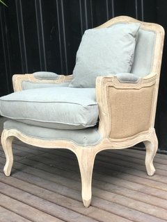 Art JBF-2084 OAK & LINEN CHAIR COMBINADO