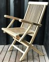 ART CP001 CLASSIC FOLDING ARM CHAIR EXTERIOR