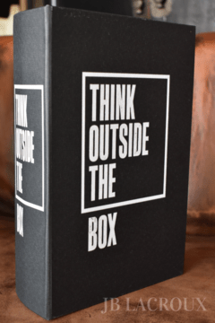 ART JB-BB1 BOOK BOX THINK OUTSIDE THE BOX