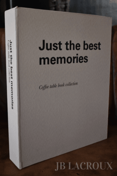 ART JB-BB2 BOOK BOX JUST BEST MEMORIES - comprar online