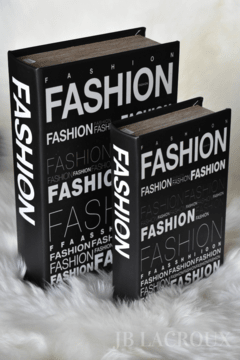 BOOK BOX SET X 2 FASHION - comprar online