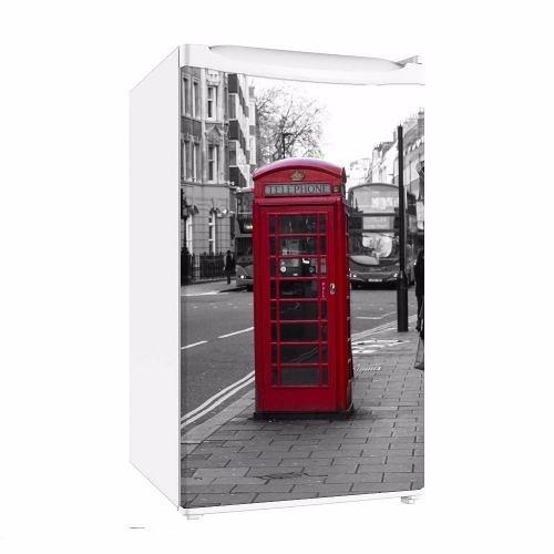 0e21c02f5 Adesivo Para Frigobar Cabine Telefônica Londres