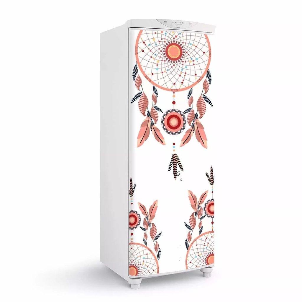 Adesivo De Parede Vinil ~ Adesivo de geladeira envelopamento Porta Filtro dos sonhos