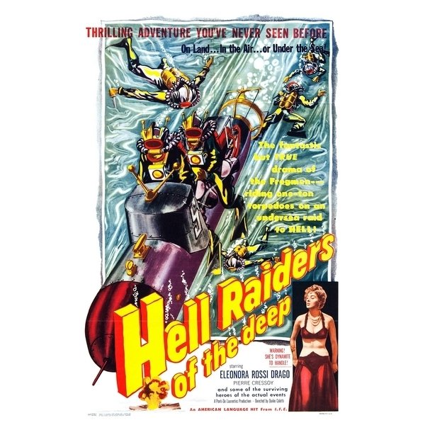 Poster Adesivo Vintage Hell Raiders na internet