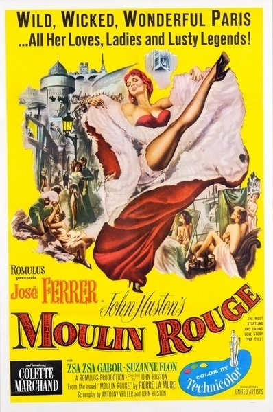 Poster Adesivo Moulin Rouge - comprar online
