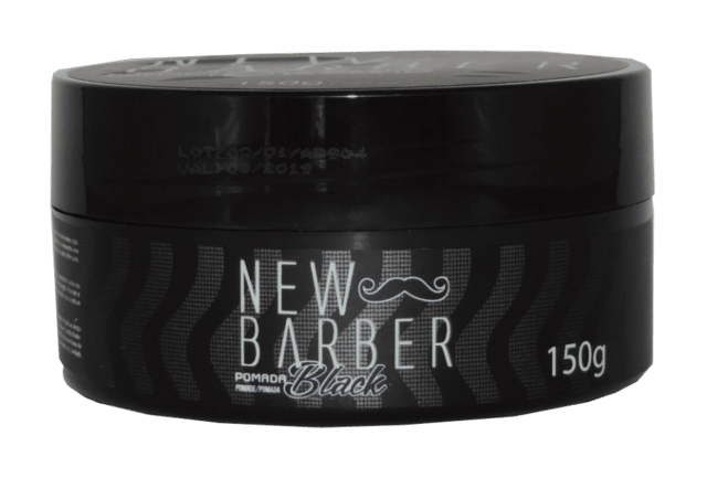 POMADA BLACK NEW BARBER 150G.