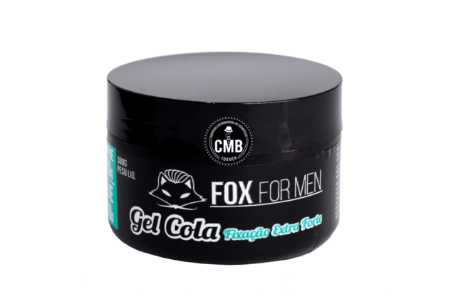 COMBO FOX FOR MEN GEL COLA 5 UN DE 300G + POMADA HAIR 5 UN DE 120G - comprar online