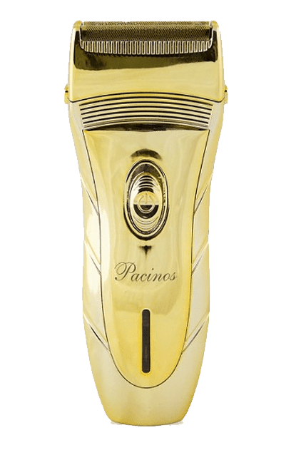MAQUINA PACINOS CORDLESS GOLD ELECTRIC SHAVER