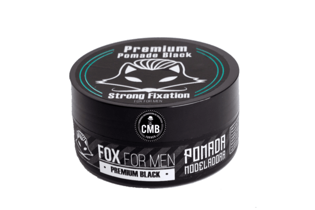 COMBO FOX FOR MEN POMADA PREMIUM 5 UN DE 150G + POMADA BLACK 5 UN DE 150G na internet