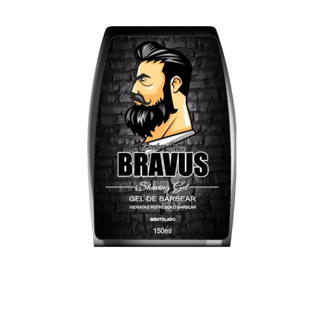 Shaving Gel De Barbear 150ml BRAVUS