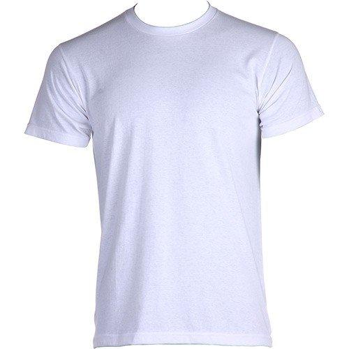 Camisetas branca de poliester para sublimação 149a8cddc84ad