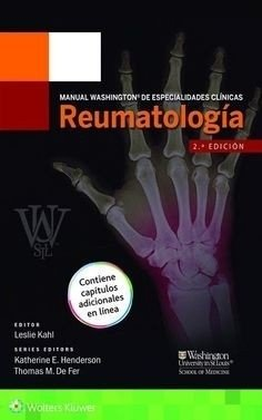 Manual Washington de Especialidades Clinicas. Reumatologia Paperback Manual Washington De Especialidades Clinicas Spanish  By (author)  Leslie Kahl