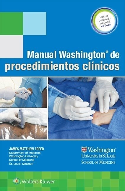 Manual Washington de procedimientos clínicos Freer, James