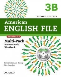 AM ENGLISH FILE 3B MULTIPK W ONLINE PRACT AND ICHECKER 2ED
