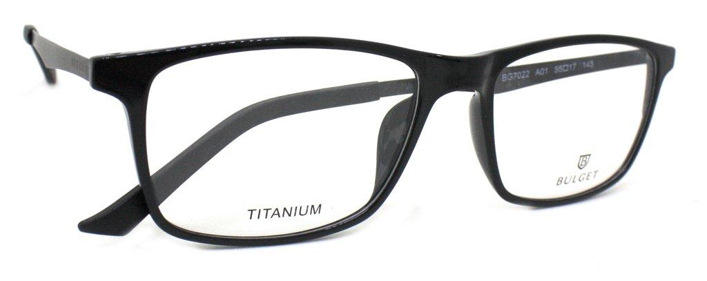15af5baa60c48 ... Masculino   Óculos de Grau Bulget BG7022 Titanium. 1