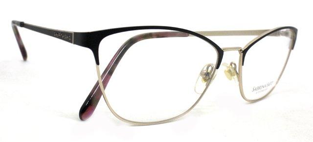 Óculos de Grau Sabrina Sato SS315 Metal Preto C1 Vinho C2 8d4af7100b