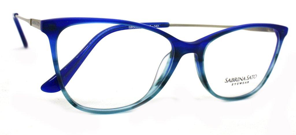 b4e781e71 Óculos de Grau Sabrina Sato SB5022 Acetato Fosco C3