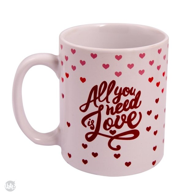 Caneca - All You Need Is Love na internet