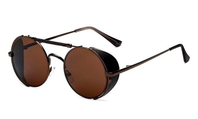 GAFAS STEAMPUNK RIDER BROWN