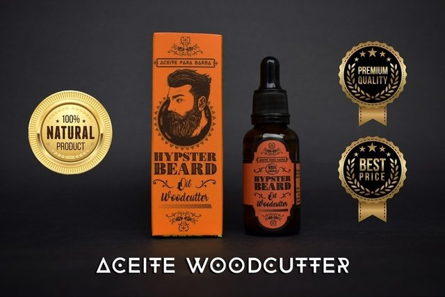 ACEITE PARA BARBA WOODCUTTER