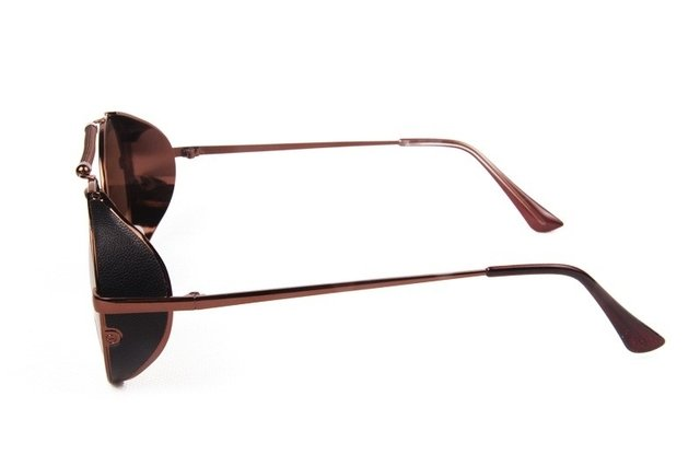GAFAS STEAMPUNK RIDER BROWN - HIPSTER