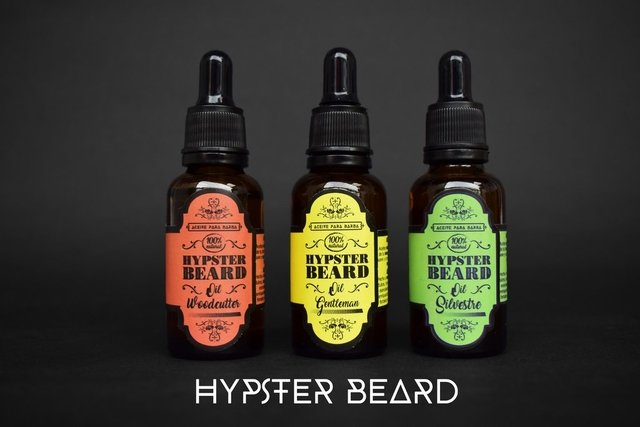 ACEITE PARA BARBA WOODCUTTER - HIPSTER