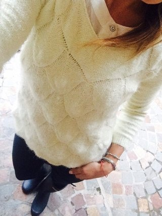 Sweater Escamitas (pelo de mono)
