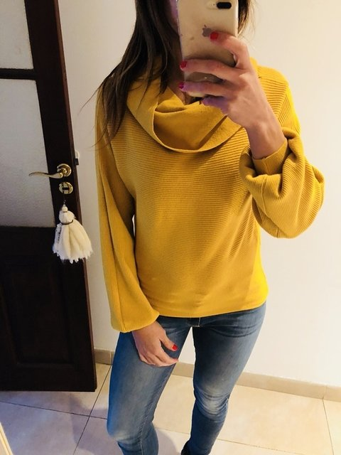 Sweater cuello camila