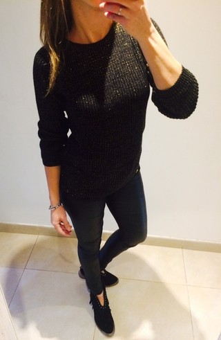 Sweater Golden Black en internet