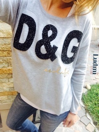 Sweater D&G en internet