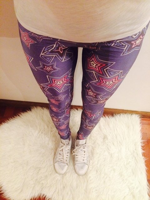 Leggings Blue Stars