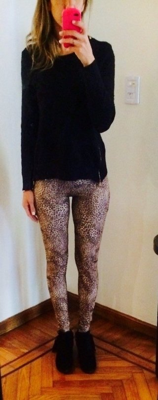 Leggings Cheeta en internet