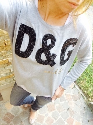 Sweater D&G - Ludmi